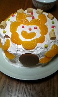 クリスマスケーキ制作中・・・