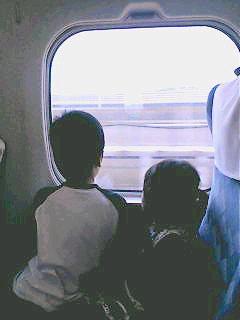 家族旅行その1
